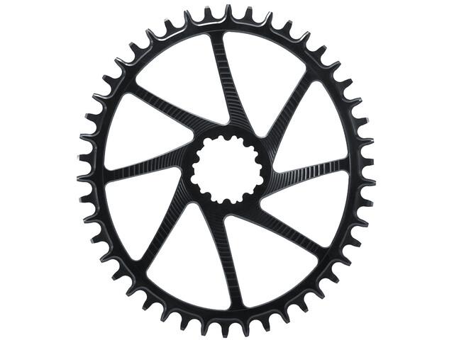 Garbaruk Chainring Oval for SRAM GXP Boost black